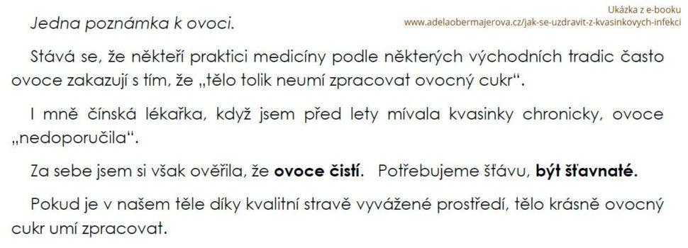 Ukázka z e-booku Jak se uzdravit z kvasinkových infekcí