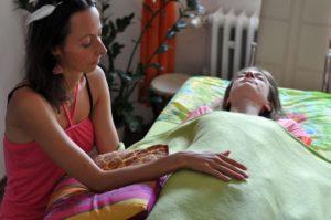 Photo © Adéla Obermajerová: Kraniosakrální terapie
